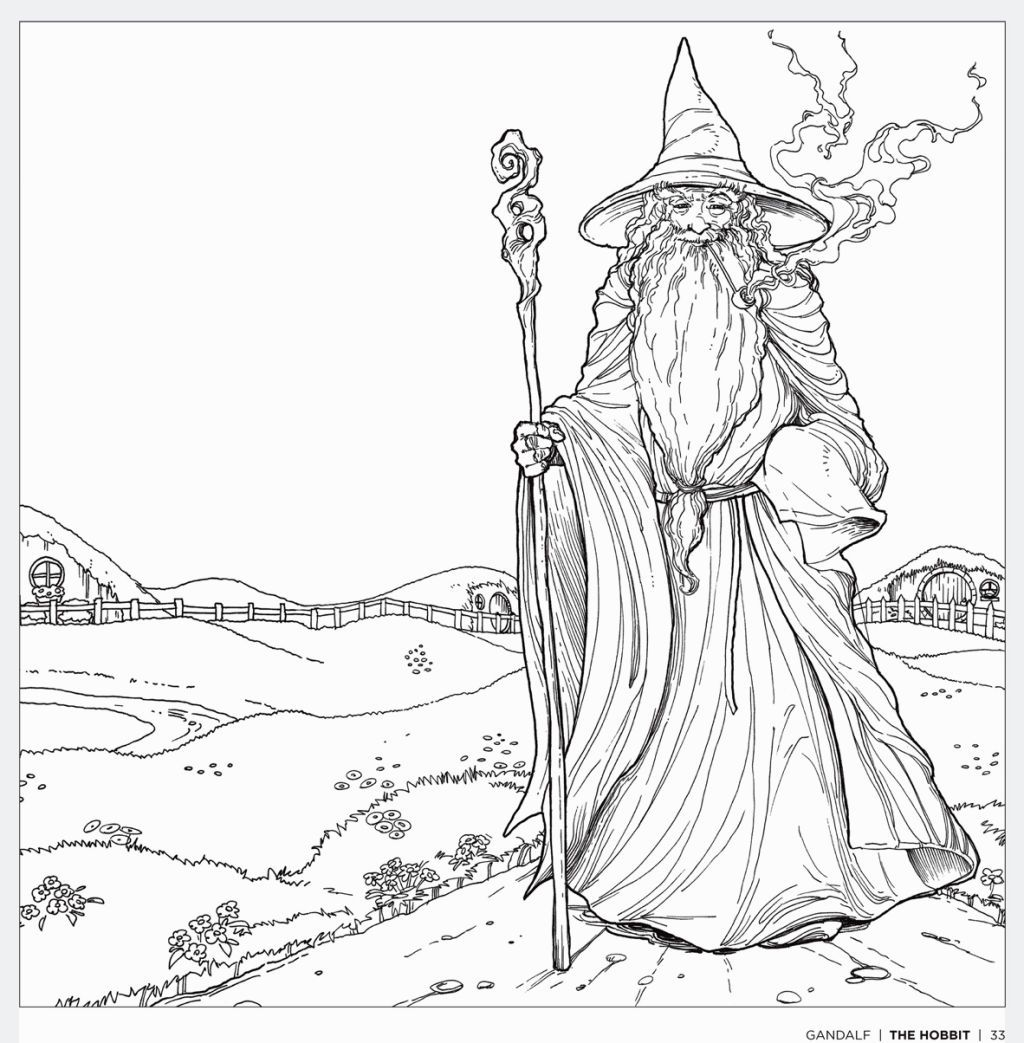 Lord Of The Rings Coloring Book | Coloring Pages | Pinterest