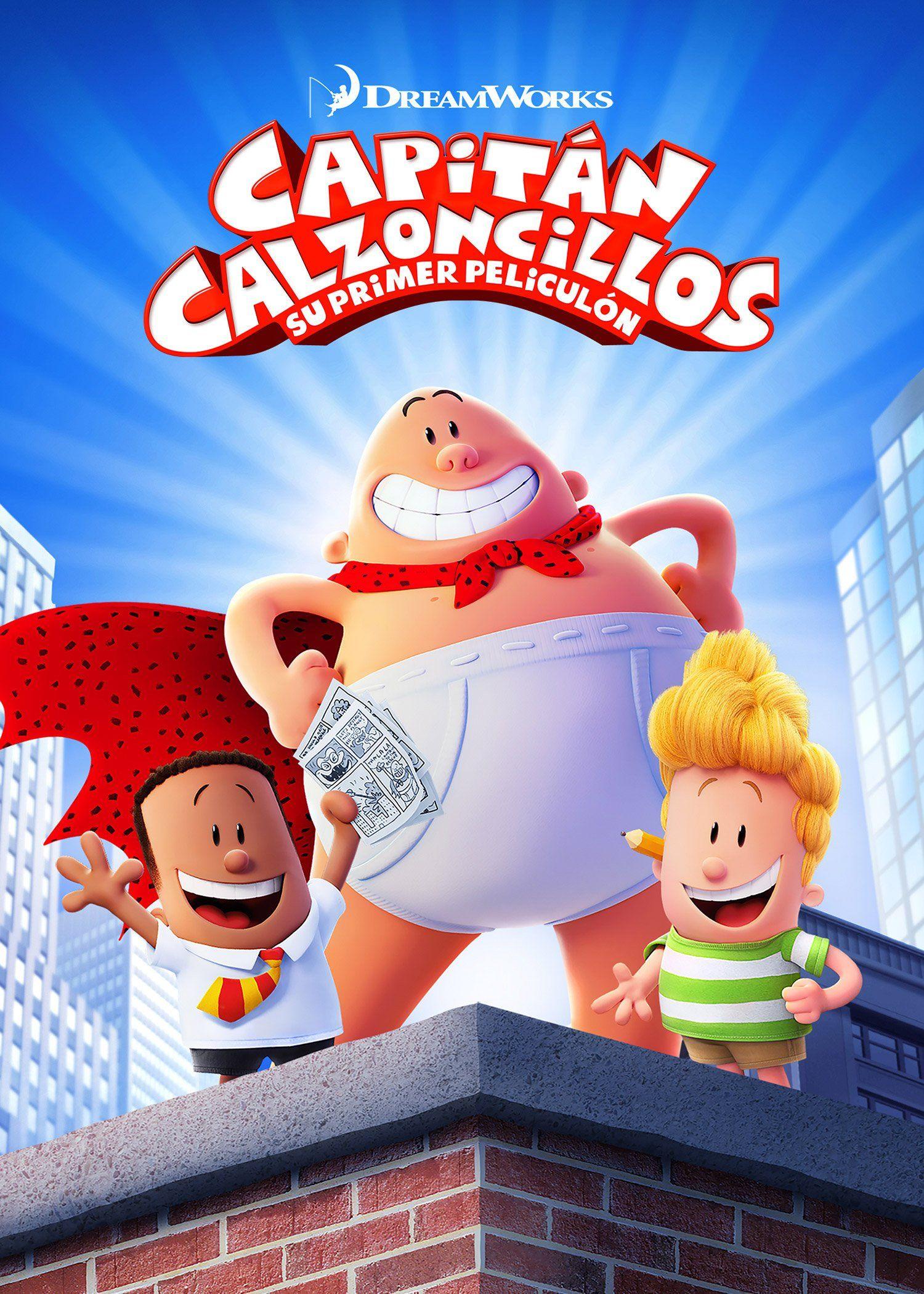 Capitan Calzoncillos Su Primer Peliculon Dir David Soren Captain Underpants Epic Movie Capes For Kids