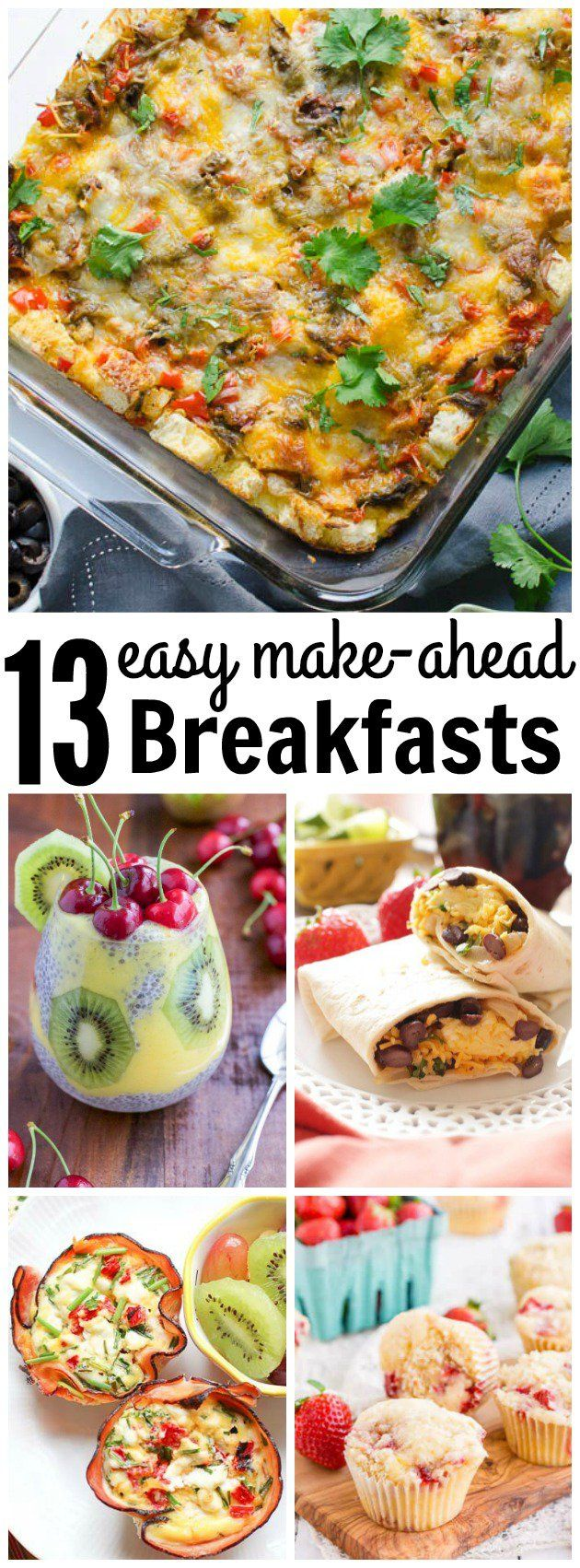 Easy fix ahead breakfast recipes