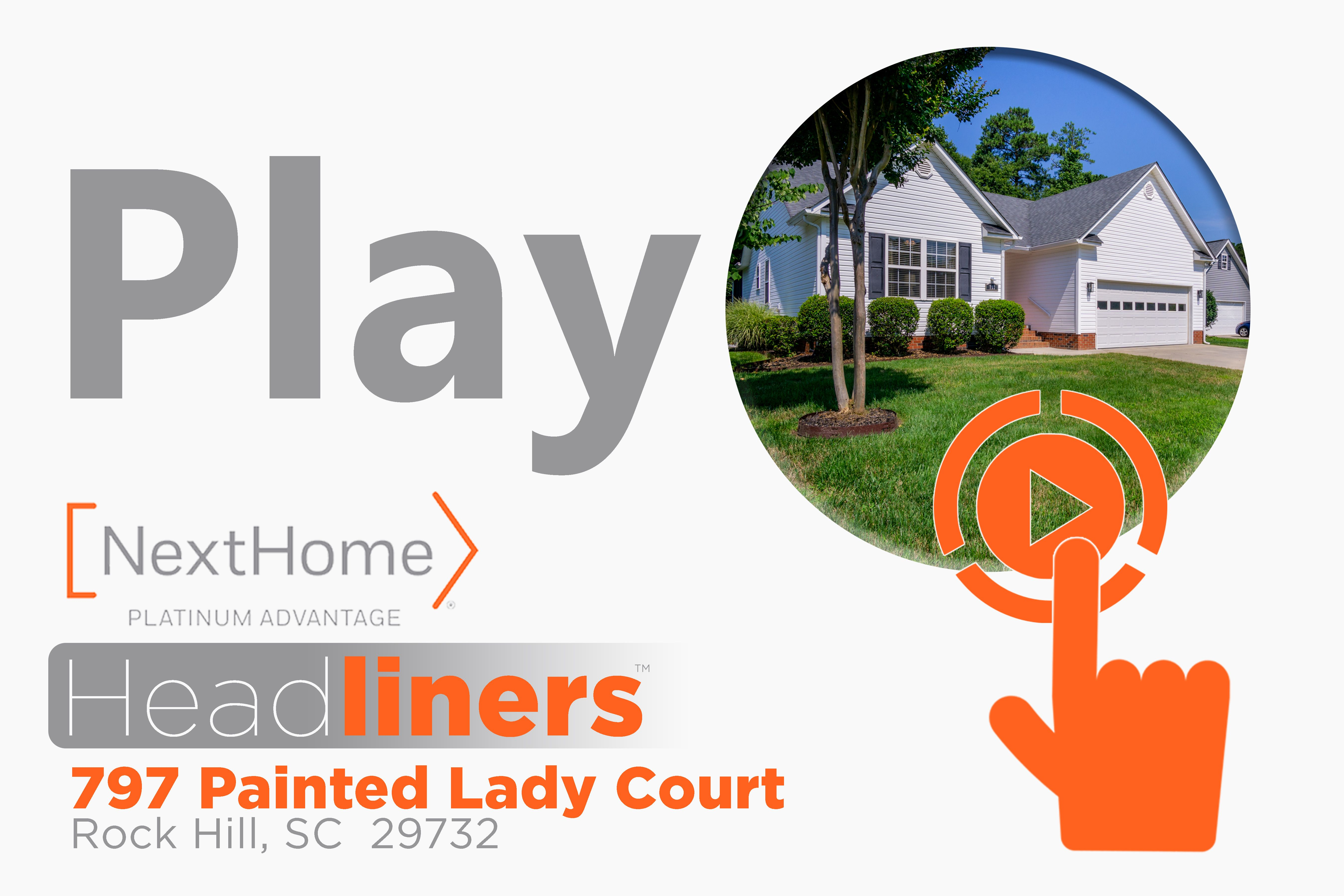 797 Painted Lady Court Real Estate Ads Real Estate Flyers Real Estate Marketing