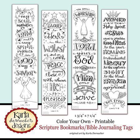 NEW Bible Journaling Bookmarks | Diario, Palabra de dios y Jesús me ama