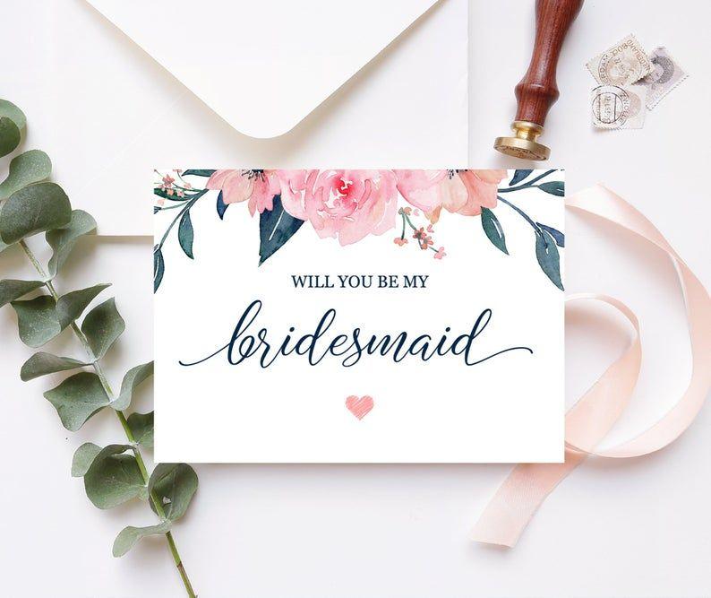 Camilla Bridesmaid Proposal Card Will You Be My Bridesmaid Etsy Bridesmaid Proposal Be My Bridesmaid Bridesmaid Proposal Cards