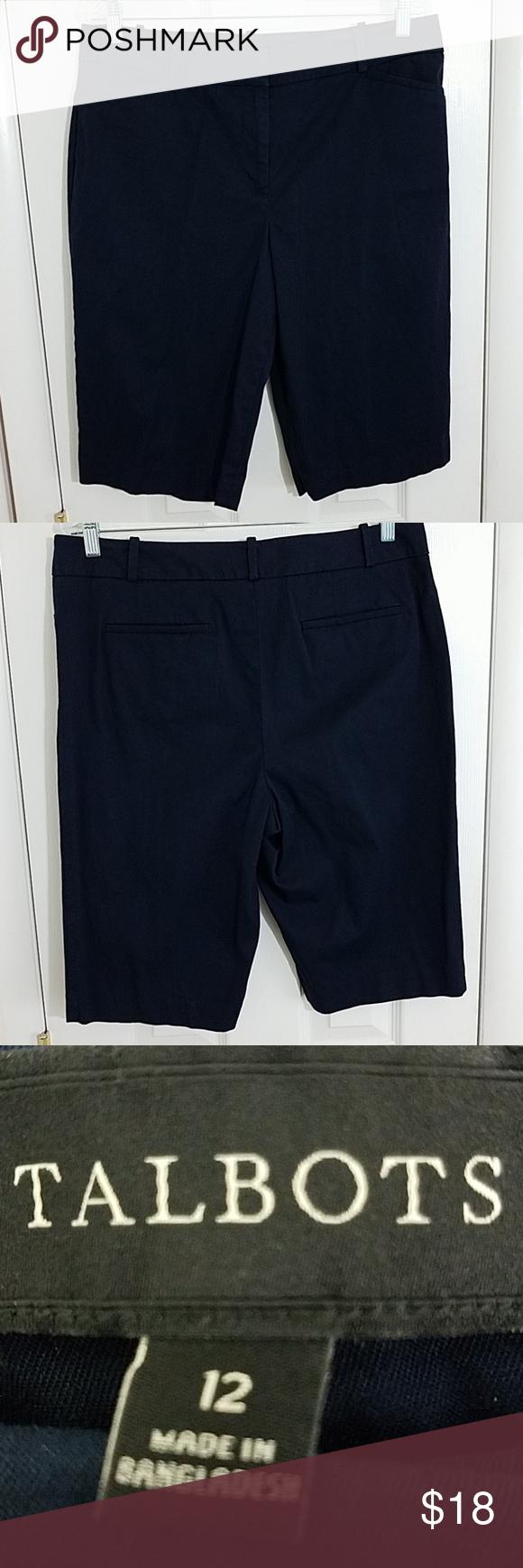 Talbots Cotton Shorts