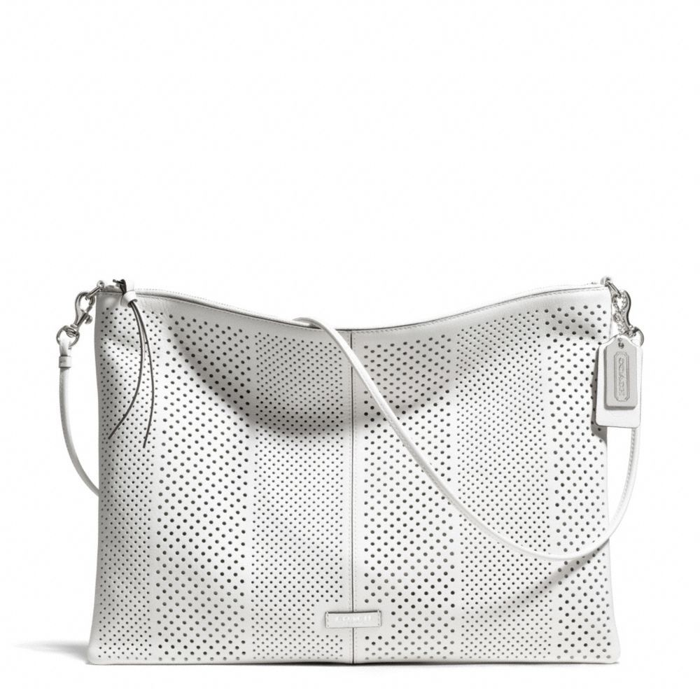 96c23a141f71 The Bleecker Daily Shoulder Bag In Perforated Leather from Coach ...