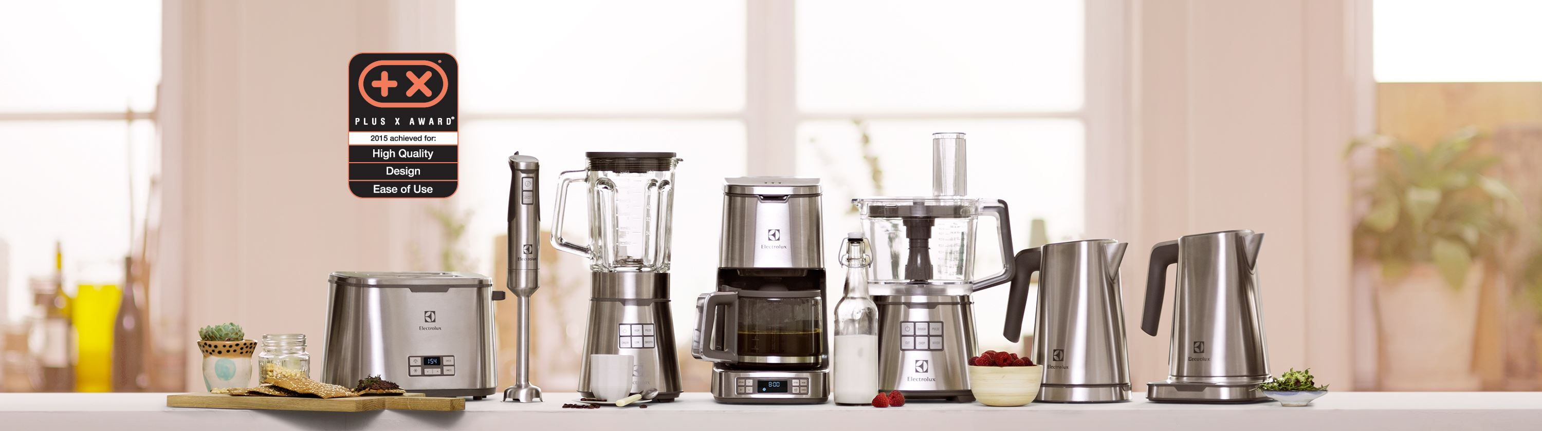Electrolux - Expressionist Collection (Plus X Award for High Quality ...