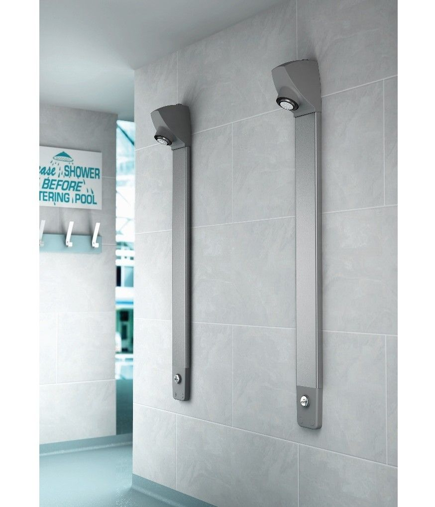 Inta's new i-Sport shower panels fuse sleek style with functionality to provide the ultimate showering experience for commercial washrooms.