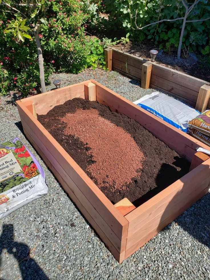 How To Fill A Raised Garden Bed Build The Perfect Organic Soil Homestead And Chill In 2020 Vegetable Garden Raised Beds Raised Vegetable Gardens Raised Garden Beds Diy