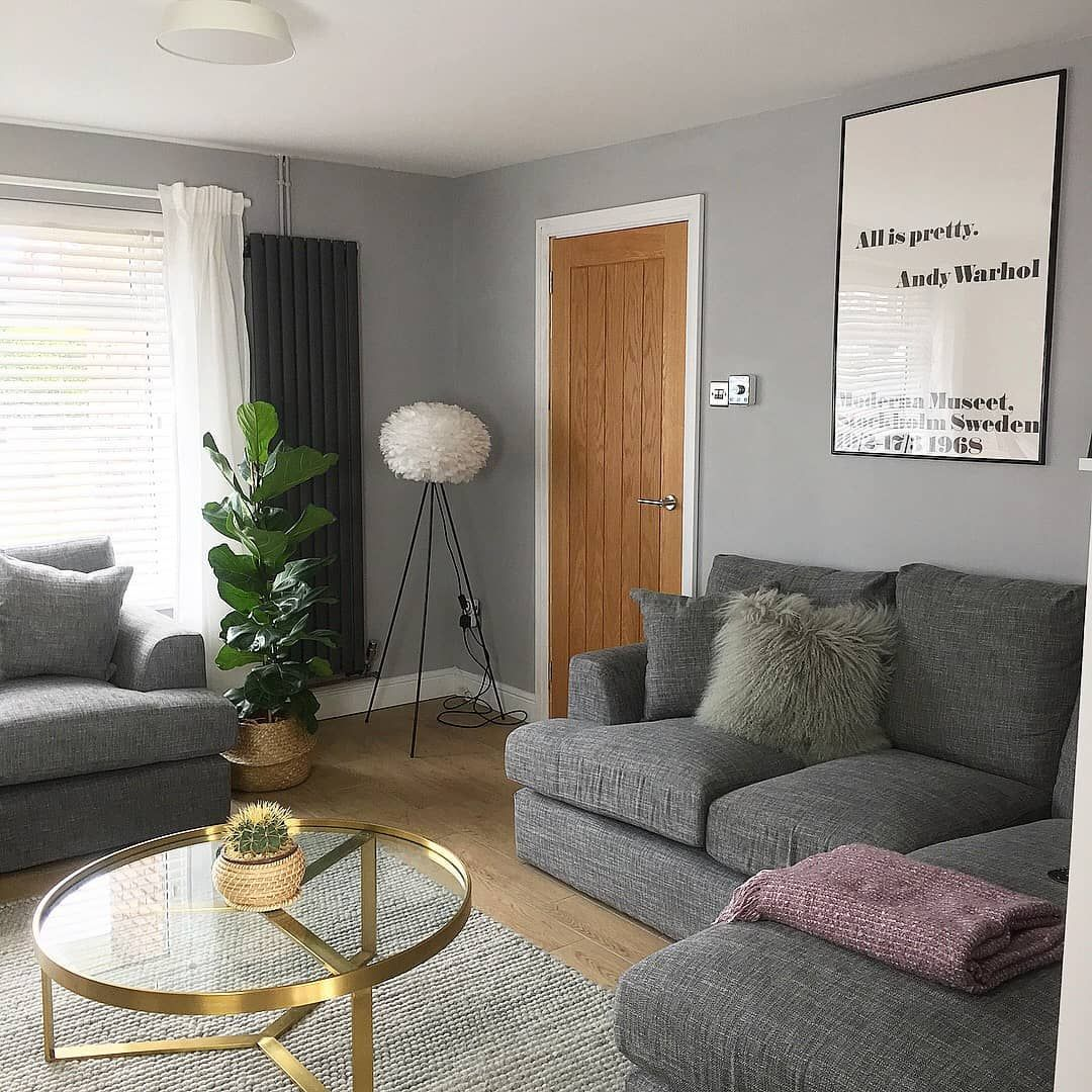 Dulux Chic Shadow Chic Shadow Dulux Living Room Living Room Grey Grey Painted Rooms