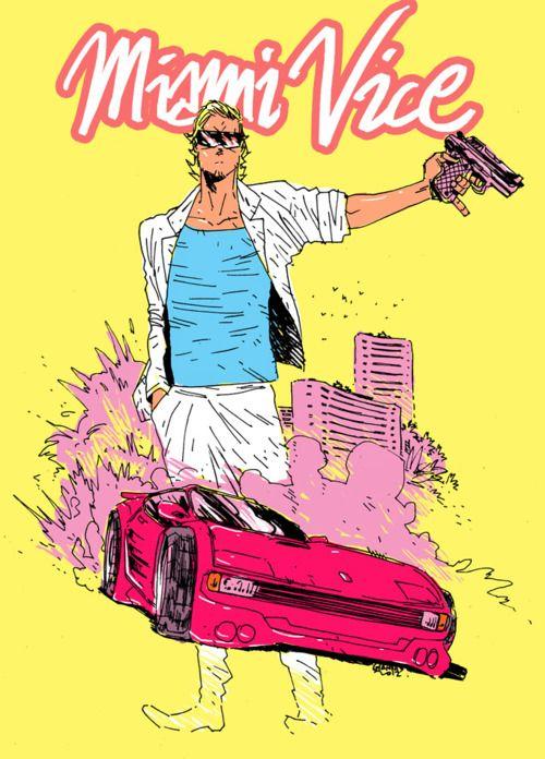 Brand New Nostalgia Miami Vice Comics Vice