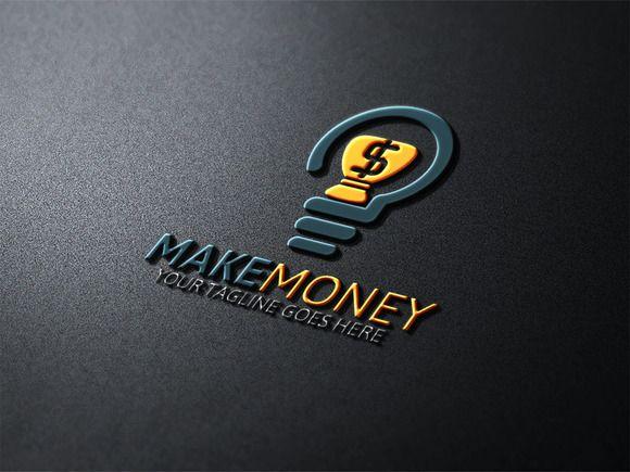make money logo by josuf media on creativemarket logos