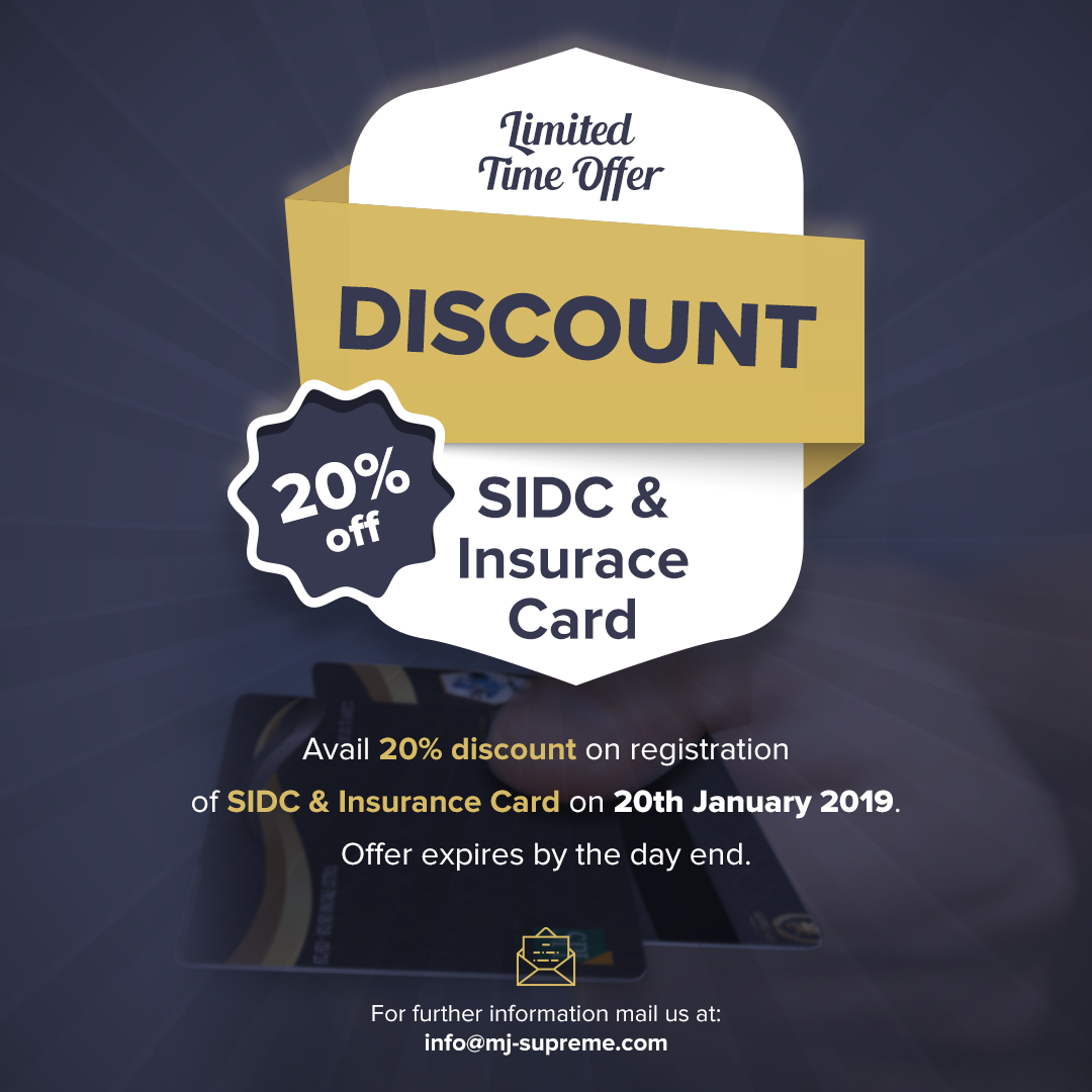 Limited Time Offer Avail 20 Discount On Sidc Insurance Card Today Offer Will Be Expired By The Day End For The New Paid S Cards Day Cards Against Humanity