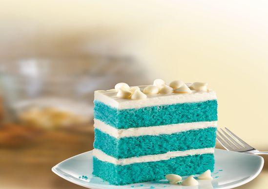 Blue Velvet Napoleon Made With New Cake Mix