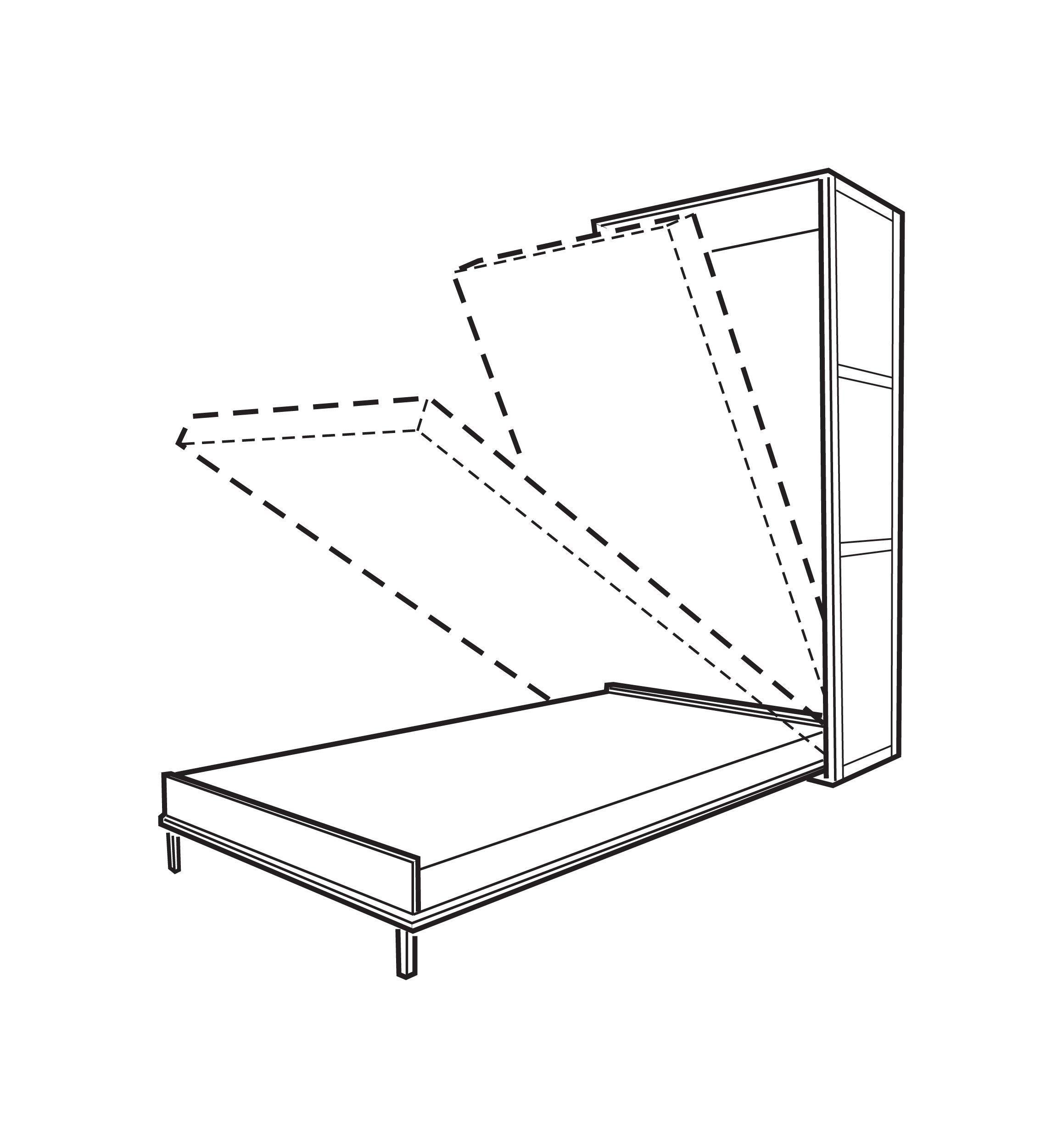 Mécanisme pour lit escamotable Lit escamotable, Trucs et