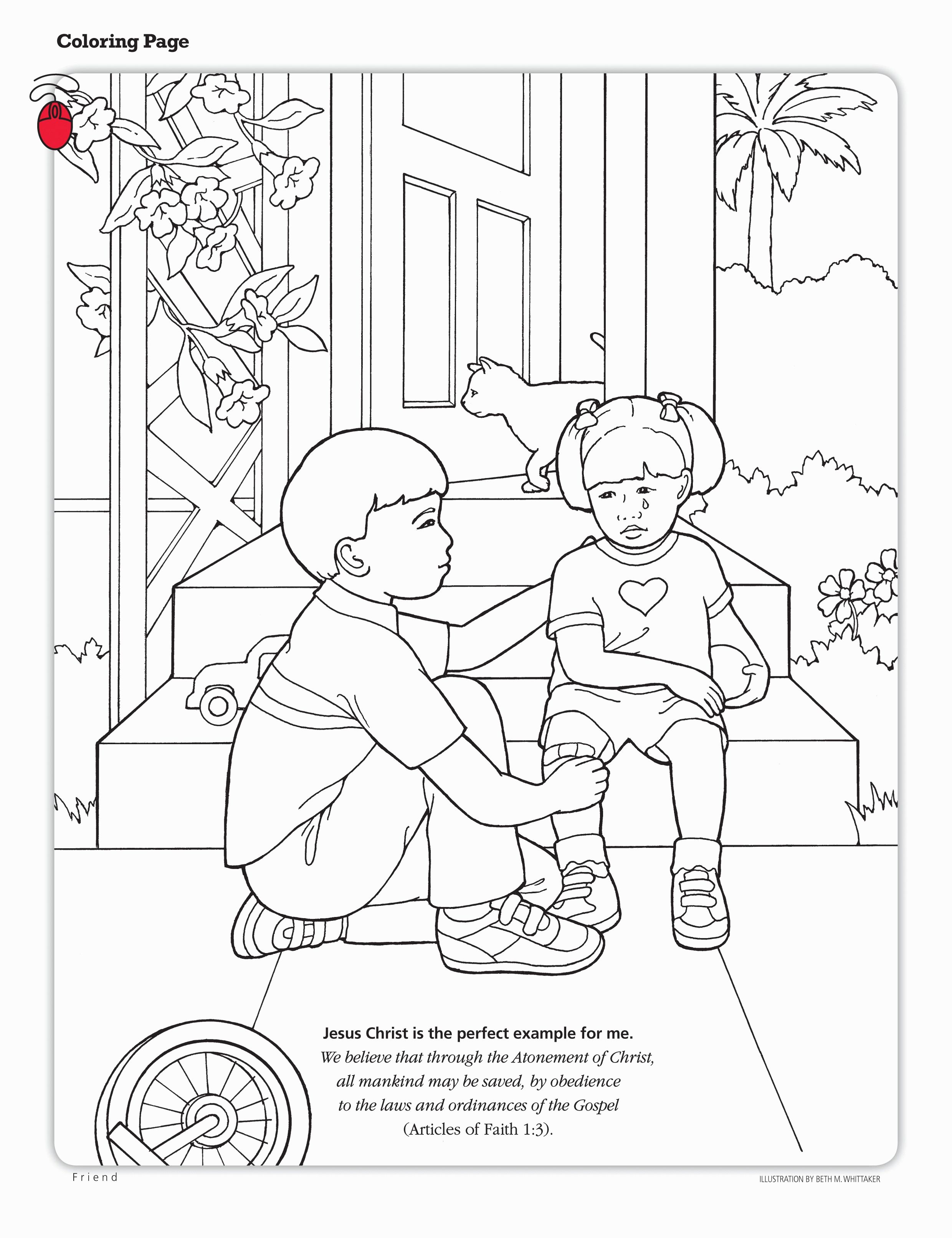 Serving Others Coloring Pages Collection Reli Membaca
