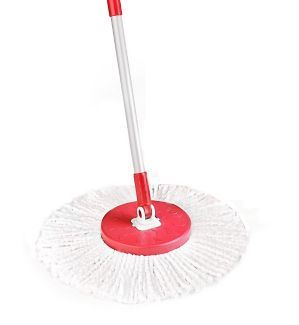 Why Waste Money On Disposable Cleaning Supplies The Fuller Brush Fiesta Red Spin Mop Replacement Head Is Made Of Microfiber Materia Fuller Brush Spin Mop Mops