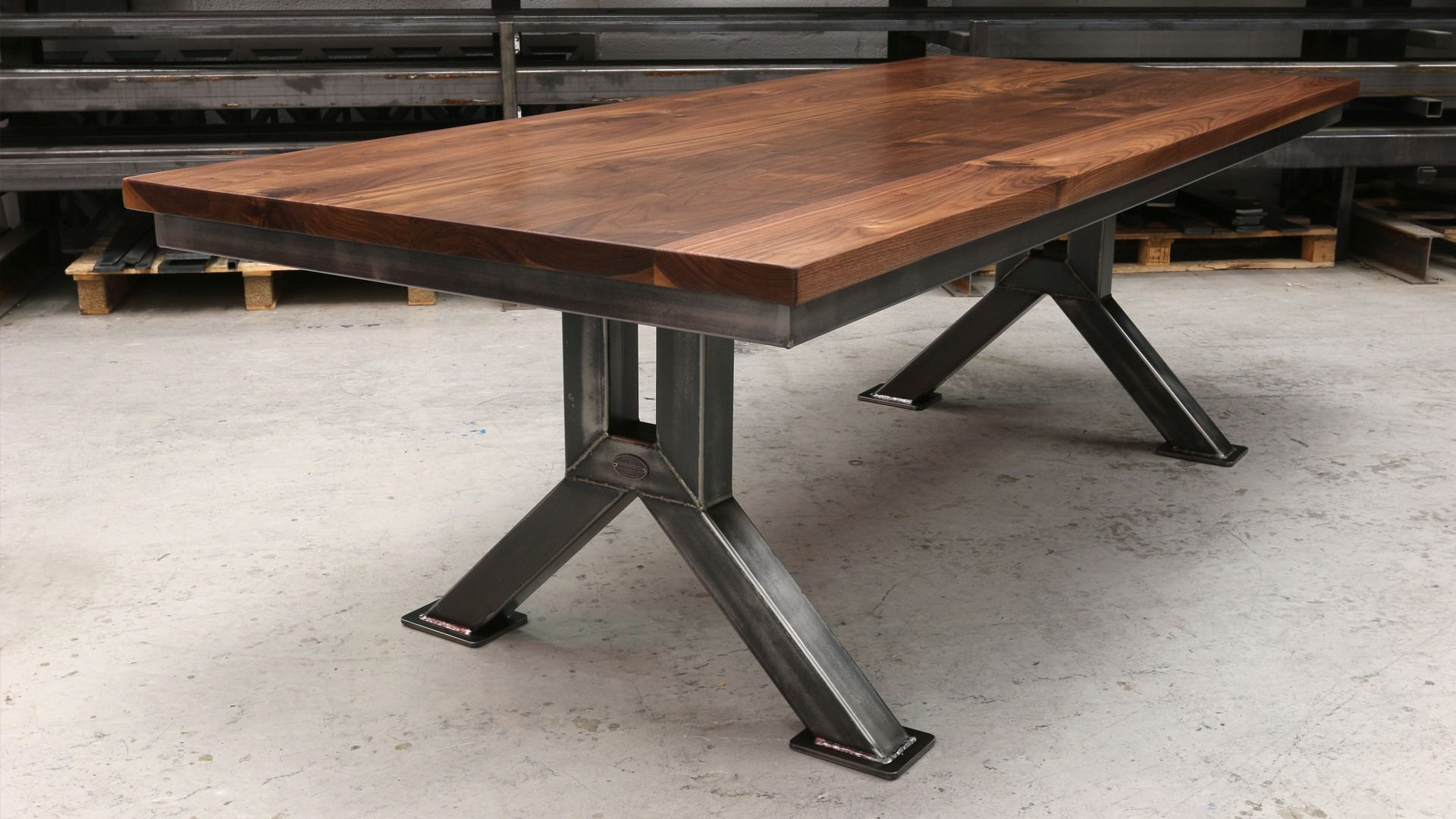 The Engineering Table Industrial Style Dining Table Dining