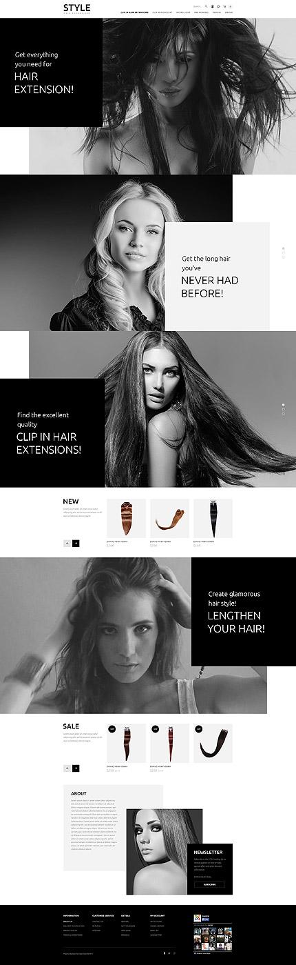 Pin By Alexandre Azevedo On Opencart Templates Opencart Templates Hair And Beauty Salon Web Development Design