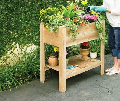 Shared From Flipp: Elevated Garden Bed In The Tuesday Morning Flyer