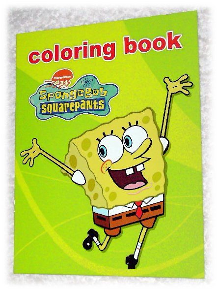 Spongebob Coloring Book | Coloring books