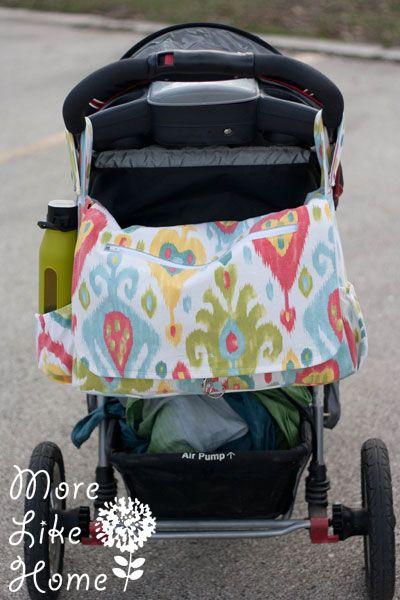 Stroller Friendly Diaper Bag {free pattern & tutorial}   SeWiNg ...