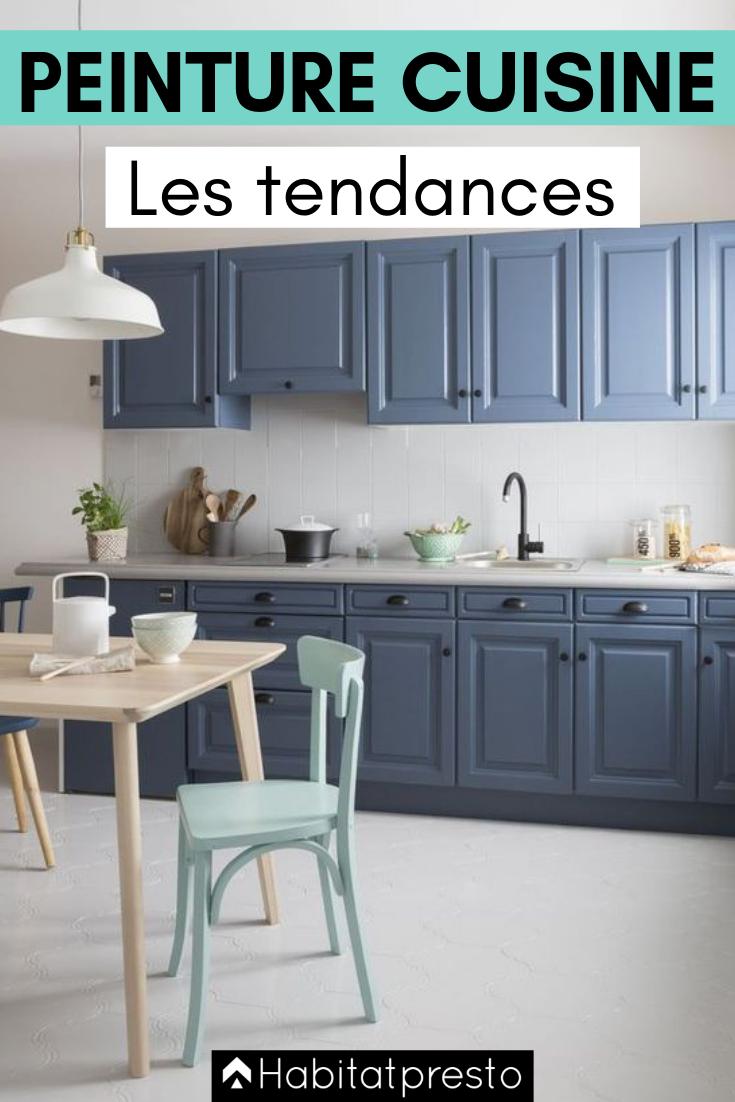Peinture de cuisine : 15 couleurs tendances en 15-15  Peinture
