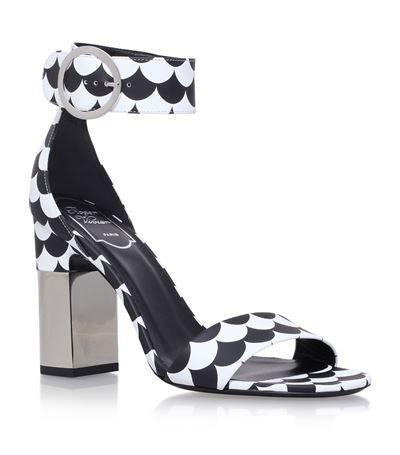Sandales en cuir PodiumRoger Vivier YSwJ7te