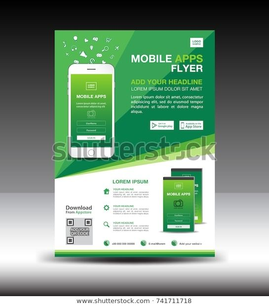 Flyer Templates App mobile apps flyer template business
