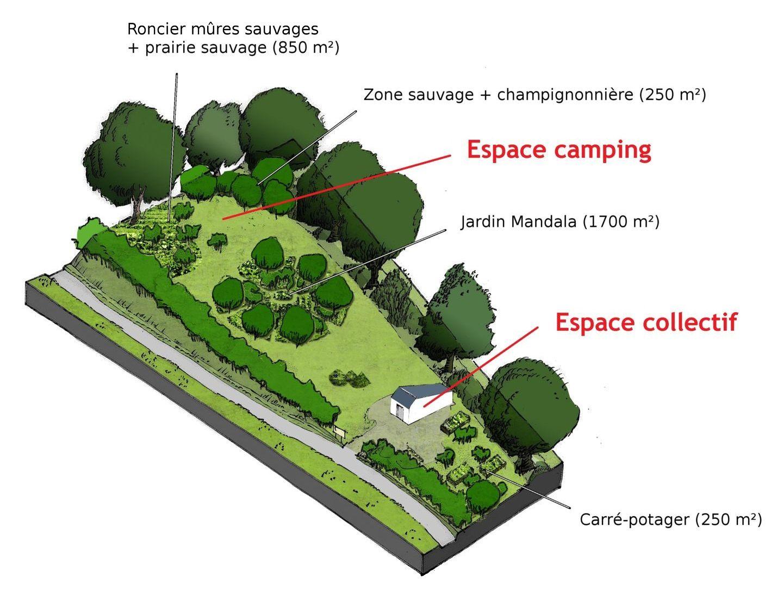 Un bel exemple de permaculture jardin foret nourricier for Permaculture bretagne