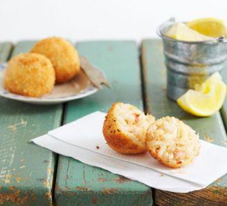 Crab Arancini | Arancini, Bbc good food recipes, Recipes