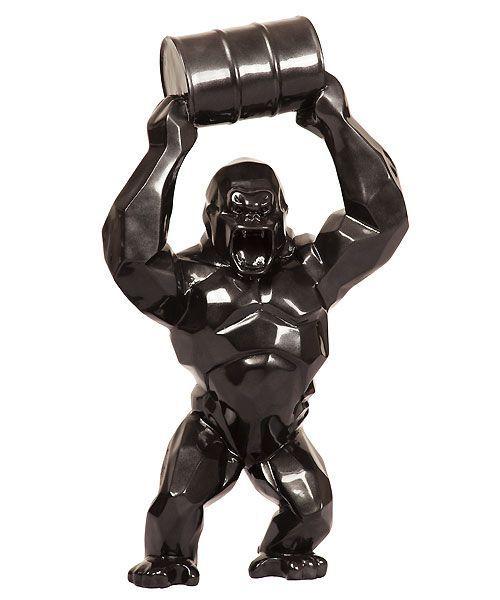 sculpture wild kong oil richard orlinski divers artist sculpture et art. Black Bedroom Furniture Sets. Home Design Ideas