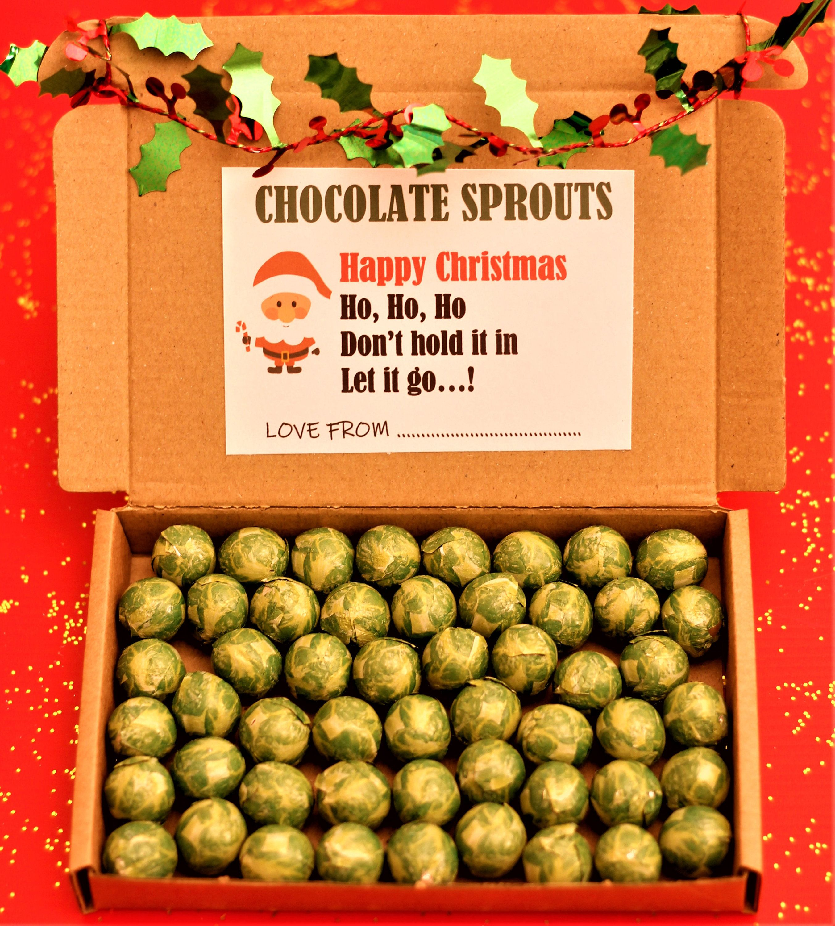 Sprouts Christmas Eve Hours 2020 New Chocolate Brussel Sprouts Christmas Eve Stocking Filler | Etsy