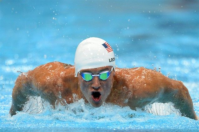 Heart Him Ryan Lochte Michael Phelps Olympic Swimming Olympics