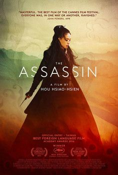 """""""The Assassin"""" plays at the Detroit Film Theatre this weekend. I love Shu Qi, the female actress in this film!"""
