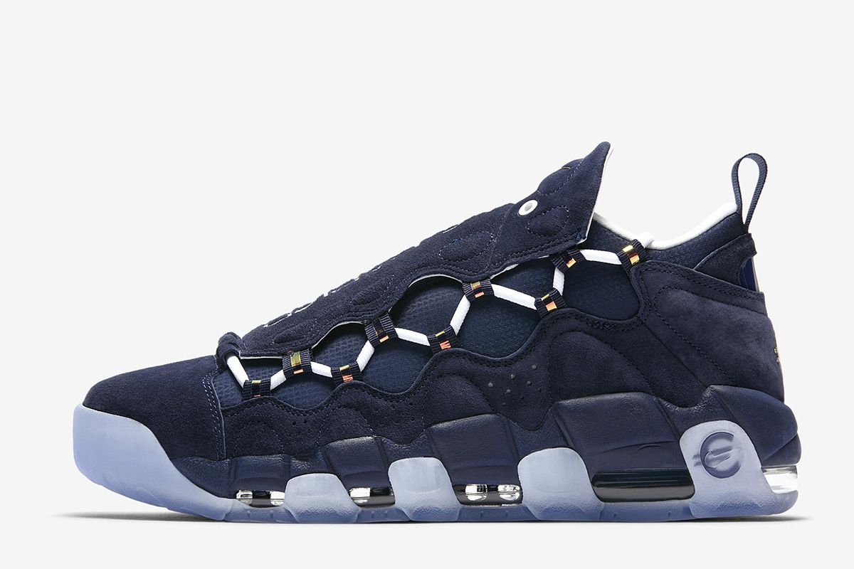 Nike Air More Money Releasing in Midnight Navy Metallic Gold - EUKicks.com  Sneaker Magazine c46795f9a