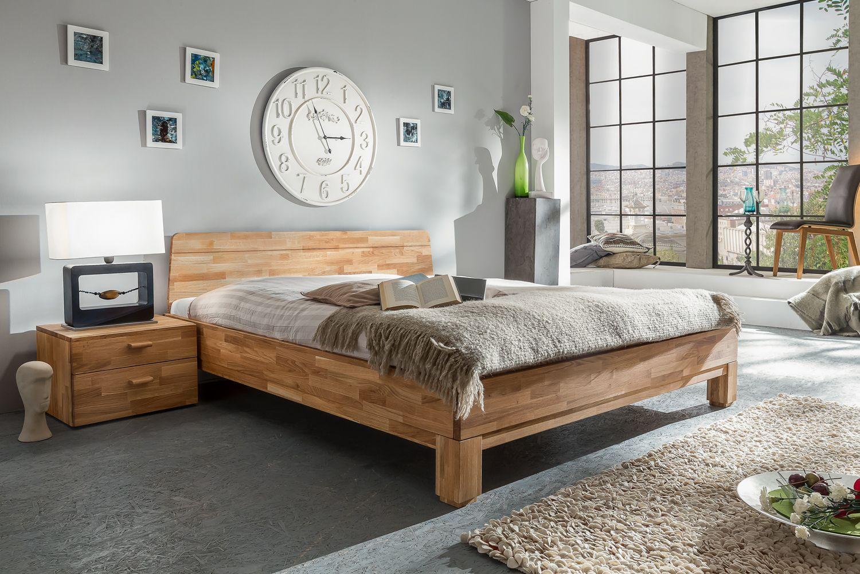 Massivholz Möbel online kaufen Massivholzbett