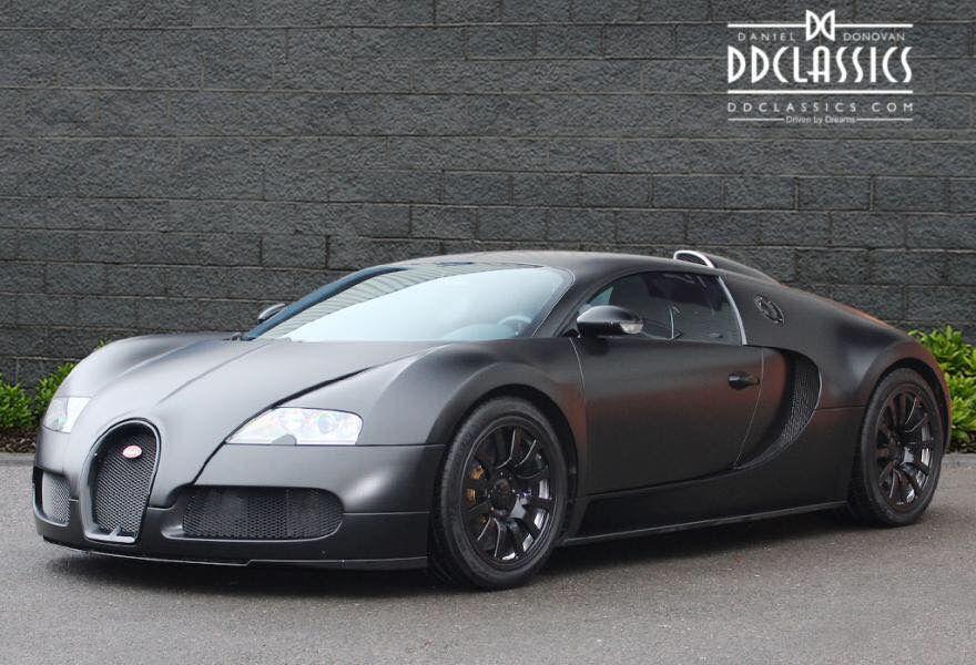 matte black bugatti veyron | Автомобили | pinterest