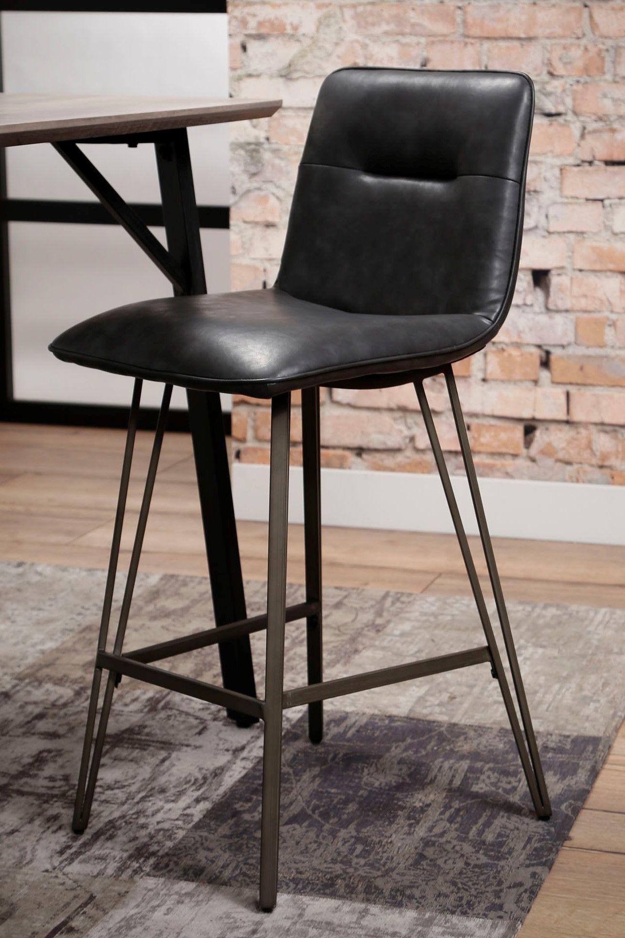 chaise de bar industriel