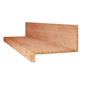 Best Square Oak Tread And Riser Kit Natural Oak Prefinished Oak 400 x 300