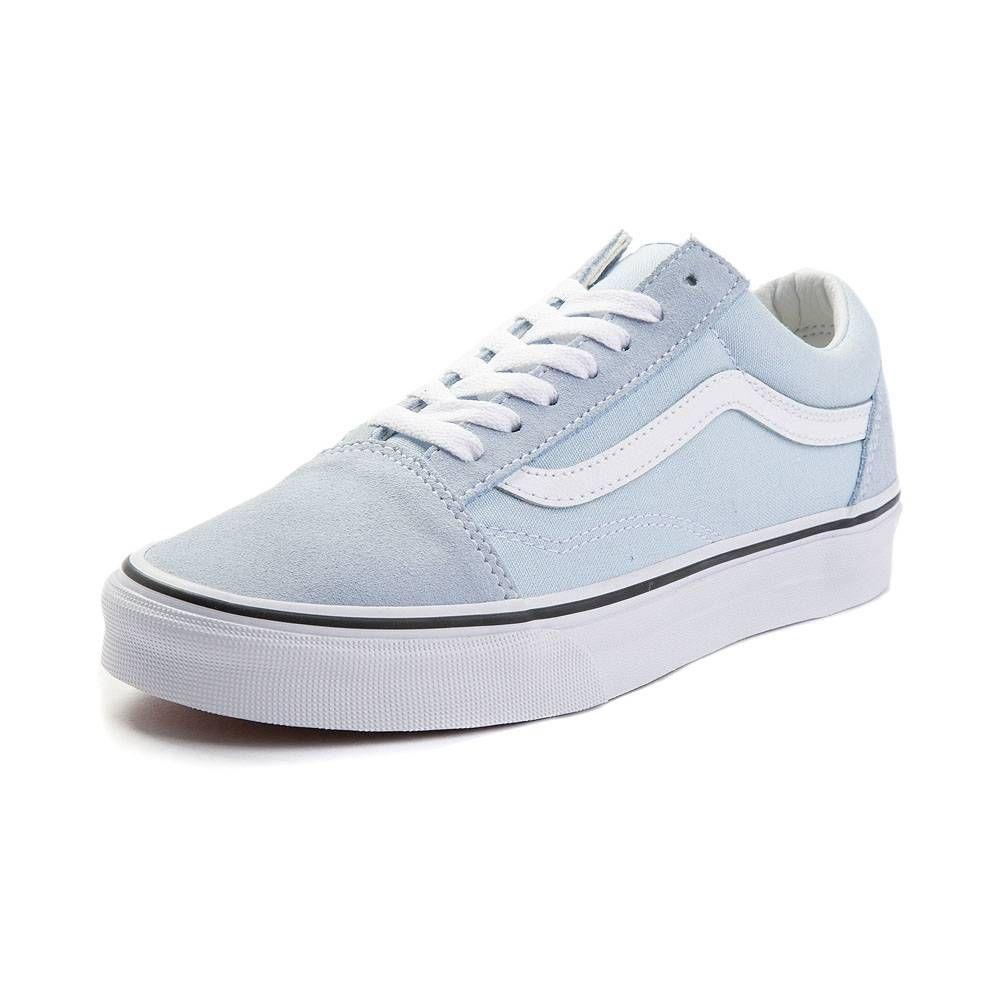 Vans Old Skool Premium Suede Skate Shoe Baby Blue 497227 Vans Shoes Women Suede Skate Shoes Baby Shoes Brands