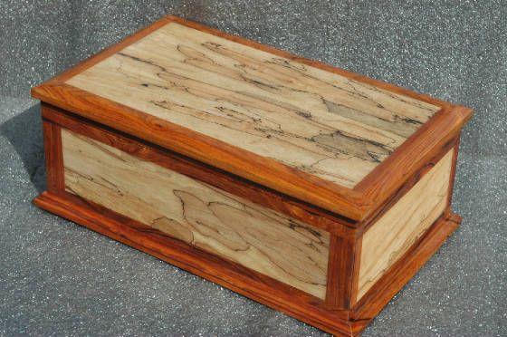 Spalted Maple Cocobolo Keepsake Box Project Ideas Decorative