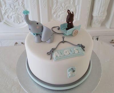 Purppurahelmen juhla- ja  fantasiakakut: Pikku Augustin 1v kakku