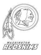 Washington Redskins Logo Coloring Page Washington Redskins Logo