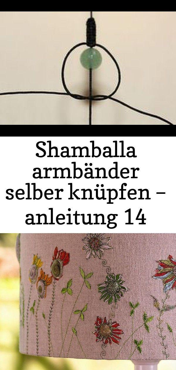 Shamballa armbänder selber knüpfen – anleitung 14 #gartendekoselbermachen