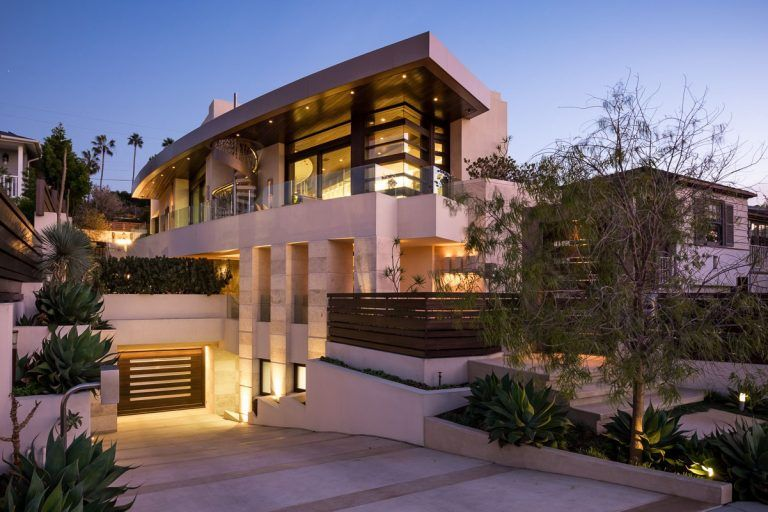 Sophisticated Modern Custom Home In La Jolla With Rooftop Patio Idesignarch Interior Design Architecture Interior Decorating Emagazine Architecture San Diego Houses Residential Architecture