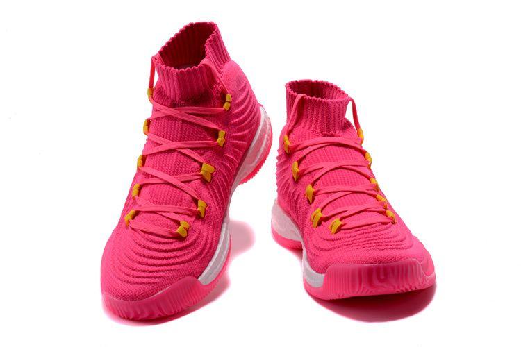 para mi violinista Faceta  2017 2018 Basketball Shoes adidas Crazy Explosive 2017 Primeknit Pink White  | Adidas crazy, Basketball shoes, Adidas shoes