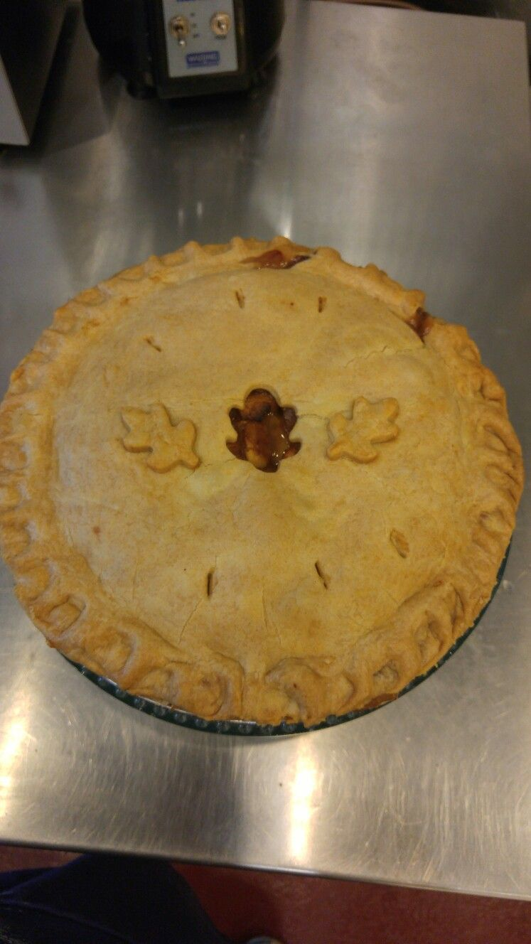 No sugar added Apple Pie. Sweetened with natural fruit