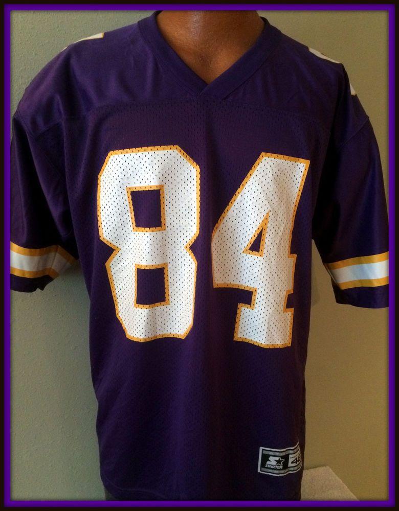 wholesale dealer 0a0af 565ed Details about VINTAGE Randy Moss Minnesota Vikings Football ...