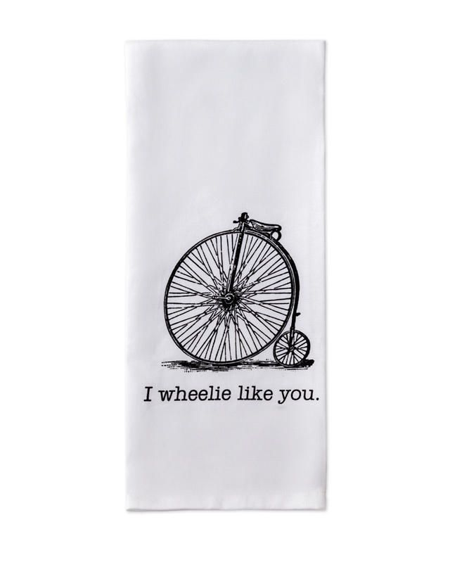Shop today for Design Imports I Wheelie Like You Dishtowel & deals on Dish Towels! Official site for Stage, Peebles, Goodys, Palais Royal & Bealls.
