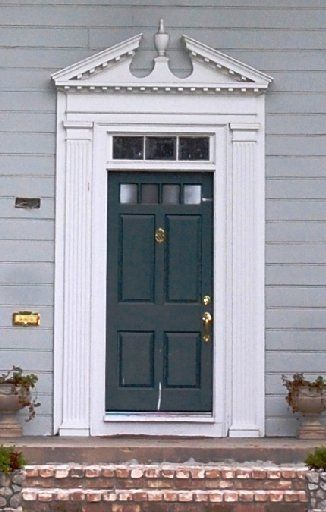 Door pediments pediments 1 sc 1 st pinterest for Exterior pediments