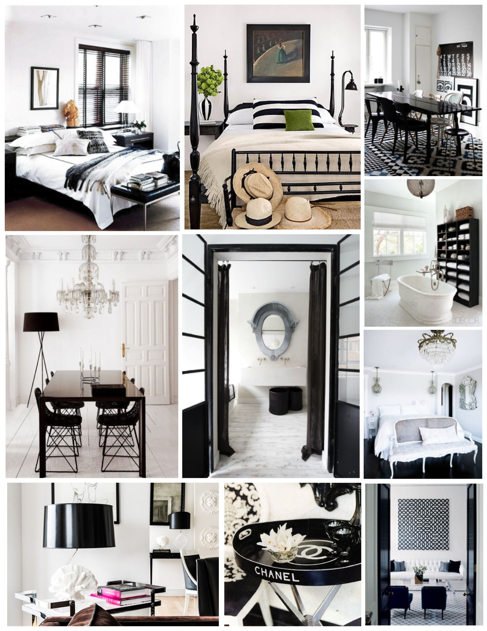 Room Inspiring black and white living spaces image